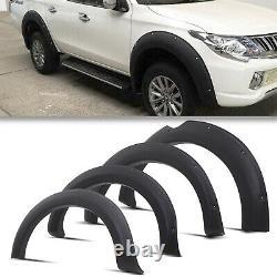 Front Rear Wide Body Wheel Arch Fender Flares For Mitsubishi L200 Triton 15