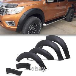 Front Rear Wide Body Wheel Arch Over Fenders Set For Nissan Navara Np300 15-19