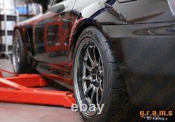 Honda S2000 2pcs CARBON FIBER Fender Flares +25mm for Wide Body Wide Arch v8