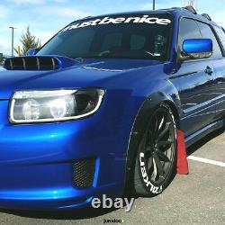 JDM Fender flares for Subaru Forester wide body kit wheel arch 50mm 2.0 4pcs
