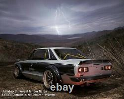 Jumdoo universal fender flares LEGEND wide body wheel arch ABS 90mm 2pcs