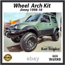 Kut Snake Wheel Arches Fender Flares for Suzuki Jimny 1998-18 Monster Wide