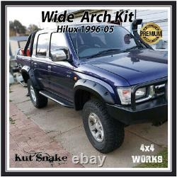 Kut Snake Wheel Arches Fender Flares for Toyota Hilux 1997-05 Wide