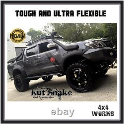 Kut Snake Wheel Arches Fender Flares for Toyota Hilux 2005-11 Monster Wide