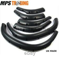 Land Rover Discovery 2 +50mm Wide Hdpe Plastic Extended Wheel Arch Set Lr643