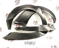 Lexus IS250 IS350 WIDE BODY KIT Wheel Arches Fender Flares 35mm width SET 10 PCS