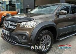 MERCEDES X CLASS Onwards 2017 Bolt on Look Wide Wheel Arches Fender Flares