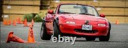 Mazda MX-5 Miata Fender flares JDM Wide Body Kit Wheel Arch 3.5 90mm 4pcs