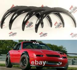 Mazda MX5 MK1/2 Fender Flares JDM Miata Wheel Arches Extensions Wide Body 4PCS