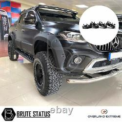 Mercedes X-Class Wide Body Wheel Arches & 35mm Wheel Spacers (Overland Extreme)