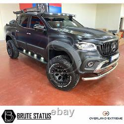 Mercedes X-Class Wide Body Wheel Arches Fender Flares (Overland Extreme)