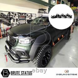 Mercedes X-Class Wide Body Wheel Arches (Overland Extreme) & 35mm Wheel Spacers
