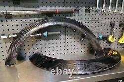 Mini Cooper S JCW F54 F55 F56 F57 real Carbon Fibre wide Wheel arches, Fenders