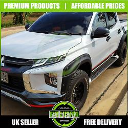Mitsubishi L200 Series 6 2019 onwards Wide Wheel Arch Extensions Fender Flares