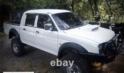 Mitsubishi L200/warrior/ k74 Extra Wide Wheel Arch/ Fender Flares/ Guard