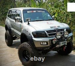 Mitsubishi/ Pajero/Montero/Shogun LWB Extra Wide Wheel Arch Flares 2001-2005