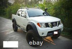 Nissan Navara D40 4 Door pick-up Extra Wide Wheel Arch/ Fender Flares/ Guard