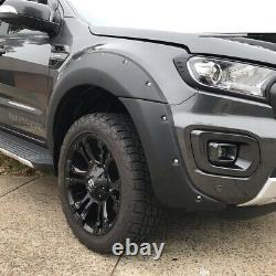 Premium Ford Ranger Raptor Look T8 2019 Onwards Wide Body Wheel Arch Kit