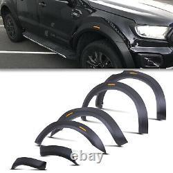 Raptor Style Front Rear Wheel Wide Arch Fender Flare Kit For Ford Ranger T7 T8