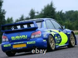 Subaru Impreza WRX STi WRC S12b Replacement Rear Quarters Wide Body Wheel Arches