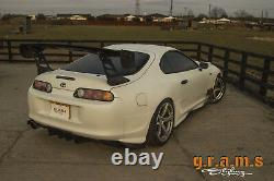 Toyota Supra mk4 +25mm OEM Style Rear Quarters / Over Fenders for Wide Body v8