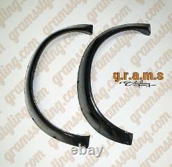 Universal Fender Flares +100mm CARBON FIBRE 2pcs for Widebody Wide Arch v8