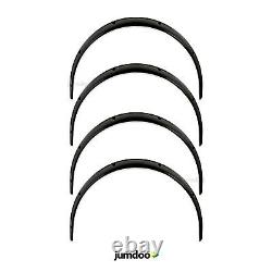 Universal JDM Fender Flares over wide body wheel arches ABS 4.7 120mm 4pcs
