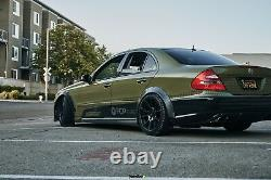 Universal JDM Fender flares CONCAVE over wide body wheel arches ABS 40mm 2pcs