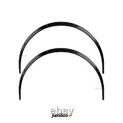 Universal JDM Fender flares over wide body wheel arches ABS 1.2 30mm 2pcs