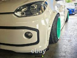 Universal JDM Fender flares over wide body wheel arches ABS 2.0 2pcs