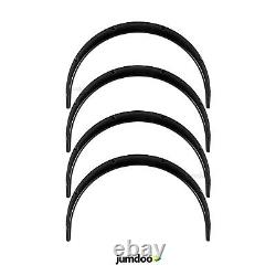 Universal JDM Fender flares over wide body wheel arches ABS 2.0 50mm 4pcs
