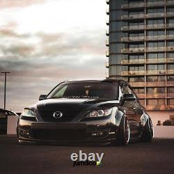 Universal JDM Fender flares over wide body wheel arches ABS 90mm 2pcs
