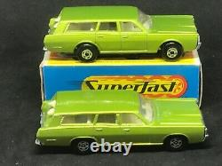 VHTF Matchbox MB73-A1 Mercury Commuter wide wheels & arches + Type G Box