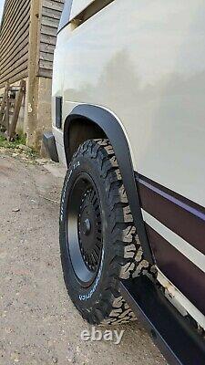 VW T25 Vanagon T3 SHC Black Wheel Arch Wide Fender Over Fender Kit & Fixings