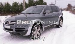 VW Touareg 02-06 Set of wide flares / flares / fender extensions