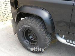 WIDE WHEEL ARCH KIT EXTENDED ARCHES ABS UK MADE FOR Land Rover Defender 90 110