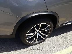 WIDE arches for X5 F15 M Sport wheel curves trim extension flares fender cover
