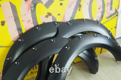 Wheel Arch Extensions for Nissan Navara D40 Wide with Rivet 2005-2011