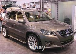 Wheel Arch SET extension spoiler flares for VW tiguan wide r sport fender