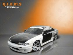 Wide Front Vented Front Wings +25mm for Nissan S14 200SX v8