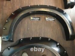 Wide Wheel Arches Extensions 5 Wide Toyota Hilux Vigo 2006-2011 mk6