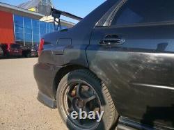 Wide body kit wheel arches extensions for Subaru Impreza WRX STI 00-05 7pcs