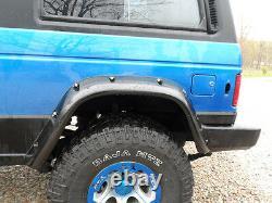 Wide fender flares wheel arches for DODGE RAIDER MK1, 2-door