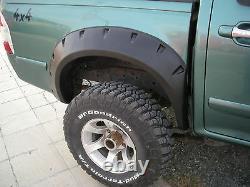 Wide fender flares wheel arches for ISUZU D-MAX Chevrolet Holden Rodeo 4-door