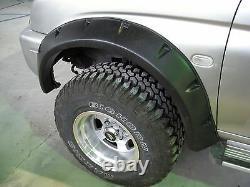 Wide fender flares wheel arches for MITSUBISHI L200 19962005 4-door K74