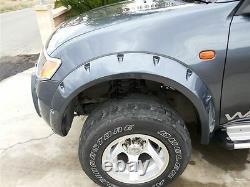 Wide fender flares wheel arches for MITSUBISHI L200 Warrior, Triton 2-door