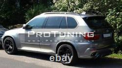 Wide set of Fender arches extensions Aerodynamic Package For BMW X5 e70 07-13
