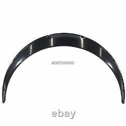 100mm Universal Wide Fender Flares Passage De Roue D'extension Arches Trims Jdm Set Rum
