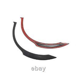2x Arrière Large Roue Arc Fender Flares Trim Fit Pour Subaru Impreza Sti Wrx 02-09