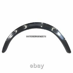 50mm De Largeur Universelle Fender Flares Archs D'extension Archres Targets Jdm Set S3g